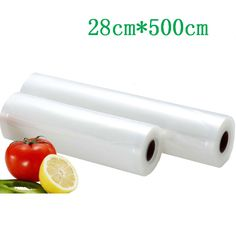 28cm*500cm 1Roll Fresh-keeping bag of Vacuum sealer General Vacuum storage bags , keep fresh More than 6 times