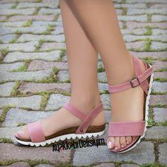 Pembe Sandalet #pink #sandals