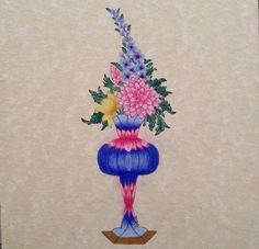 Ali En Nakşibendi Er Rakım dan Şükufe çalışmam Türkân Ekinci #çiçek #minyatür #tezhip 2015