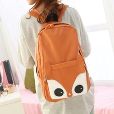 Squirrel Detail Backpack