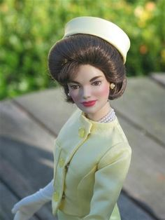 Jackie Kennedy doll, unknown maker
