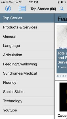 speech therapy advocate app   is an aggregator of popular speech therapy blogs