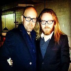 Tim and his bro