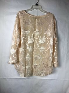 a49deaf01 Victorias Secret Womens Vintage Sleep Top Siz S Gold Label Cream Floral  Satin 26 #VictoriasSecret