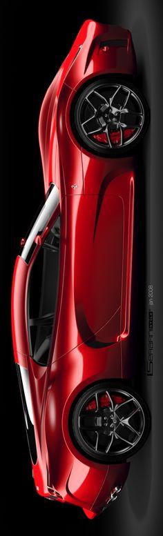 Ferrari concept 2008_new renders on Behance