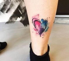 ▷ 1001 + ideas for a beautiful watercolor tattoo you can ste.- ▷ 1001 + ideas for a beautiful watercolor tattoo you can steal 100 examples of a watercolor tattoo you can steal %%page%% – Architecture E-zine - Tattoo Now, Tattoo Fonts, Back Tattoo, Delicate Tattoos For Women, Small Tattoos With Meaning, Watercolor Heart Tattoos, Flower Watercolor, Abstract Watercolor, Tattoo Ideas