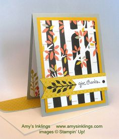 Welcome to the November Pals Blog Hop. We are thankful you stopped by. This month we are showcasing projects that show our thanks, including both thank you and Thanksgiving themed projects.You ma...