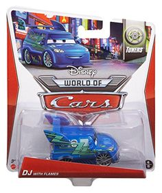 Disney Cars DJ mit Flammen - Disney World of Cars -Tuners: Amazon.de: Spielzeug