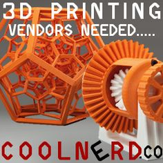 CoolNerd - 3D Printing Marketplace - CoolNerd - 3D Printing Marketplace