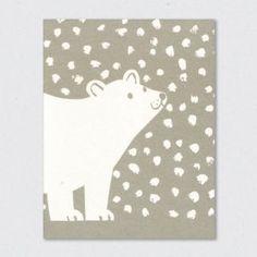 - oso polar - -Tarjeta plegada - oso polar - - Image of Polar Bear Christmas Design, Christmas Art, Gravure Illustration, Polar Bear Christmas, Linoprint, Christmas Illustration, Linocut Prints, Xmas Cards, Christmas Inspiration