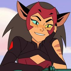 Cleo's colors are pretty much the same as Catra's, with few variations