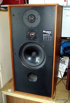 Vintage Rogers Studio speakers. Click on photo for more pics and story.
