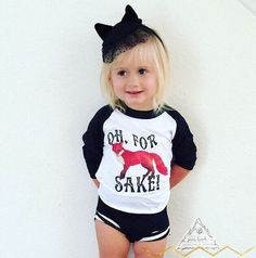 Oh for FOX Sake   Fox shirt boho hippie tribal baby toddler shirt   fox  rustic 549da1e5419a