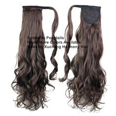 Stock more different colors synthetic ponytails for your selection. Synthetic Hair Extensions, Synthetic Wigs, Marley Braids, Curly Ponytail, Ponytail Extension, Jumbo Braids, Ombre Color, Blonde Ombre, Hair Weft