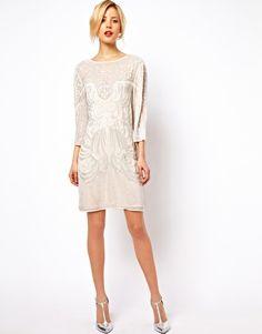 Image 4 ofASOS Baroque Embellished Dress