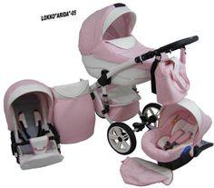 Babycruiser Arida Babakocsi KOL 05  rózsaszín-fehér f5793cb76c
