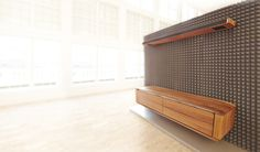 Outdoor Furniture, Outdoor Decor, Solid Oak, Interior Inspiration, Furniture Design, Sofa, Storage, Audio, Tv