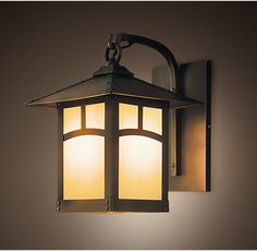 MADERA LANTERN SCONCE0 Restoration Hardware Perfect for a garden- esoecaily if made of copper-would create a nice patina over the years