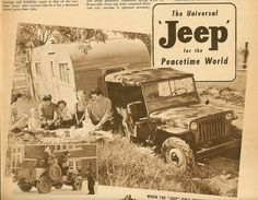 """flatfendersforever: """"MB Monday Okay, maybe not technically an MB, this a A. Only 45 were built and they were based off the MB body and grill but were stamped JEEP on the windshield and. Jeep Dodge, Jeep Cj, Jeep Wrangler, Jeep Willys, Camping Jeep, Old Campers, Vintage Jeep, Old Jeep, Cool Jeeps"""