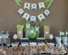 Holiday Party Ideas – Setting Up a Hot Cocoa Bar