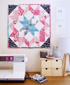 Mini quilt art gallery fabrics