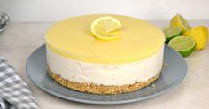 Tarta helada de leche condensada y limón. Receta paso a paso con vídeo