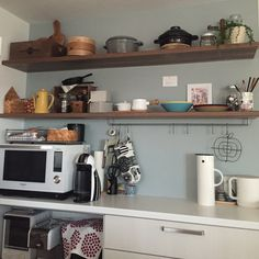 marimekko/北欧/アクセントクロス/IKEA/ドリップケトル/コーヒーメーカー…などのインテリア実例 - 2016-01-02 09:22:45 | RoomClip(ルームクリップ)