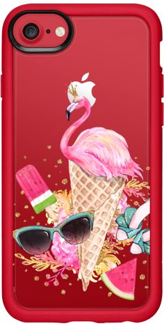 Casetify iPhone 7 Classic Grip Case - Summer Mood by Karamfila Siderova