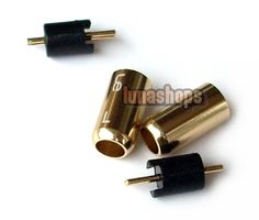 $8.00 - Aluminium Shell Ultimate UE tf10 5pro sf3 0.75mm Earphone Pins Plug For DIY Cable - LS001213 -