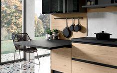 Cucina angolare moderna - Composizione 0556 - Dettaglio piano snack