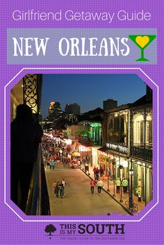 New Orleans is a great place to spend a girls weekend, from the unique boutiques and art galleries to the cocktail bars and spas.
