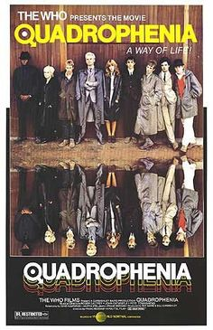 Quadraphenia movie poster.....I loved this film, probably because i love scooters!