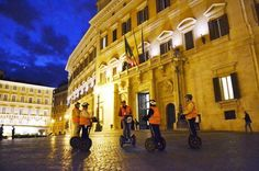 Rome Night Segway Tour Feel the unique atmosphere of Rome's historical places by night! On your 2.5-hour Rome Segway tour, glide through the city and visit all of Rome's most famous sites while listening to your knowledgeable guide. See top Rome attractions like the Pantheon, the Temple of Hadrian, the Trevi Fountain and, of course, the Spanish Steps. This small-group tour is limited to eight people, ensuring you'll receive personalized attention from your guide.Meet your guid...