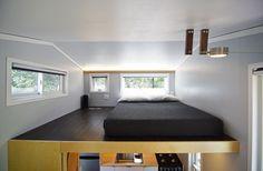 Tiny house bedroom.