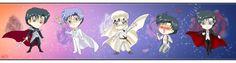 =COMMISSION= Chibi Mamofest! by ChibiRikku.deviantart.com on @DeviantArt Tuxedo Mask, Sailor Moon, Chibi, Geek Stuff, Kawaii, Deviantart, Manga, Cute, Anime