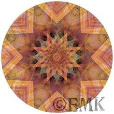 Take a Moment to Feel Something. Anything.  Always feel free to let me know what it is (I love honest feedback). Digital Mandala by Erika M. Klein