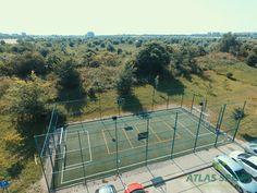 Constructie teren multisport pentru complex rezidential Multifunctional, Tennis, Gardens, Outdoor Gardens, Garden, House Gardens
