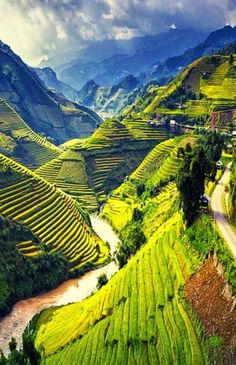 Mu Cang Chai, Vietnam – – Best in Travel – The best places to visit in 2020 Places Around The World, Oh The Places You'll Go, Travel Around The World, Places To Travel, Cool Places To Visit, Vietnam Voyage, Vietnam Travel, Asia Travel, Travel Tips