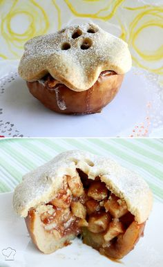 apple pie apple cup