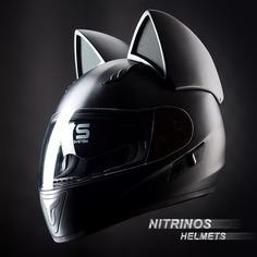 Neko helmet, the helmet with cat ears is available for ordering on the site: www.nitrinos.ru