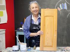 Learn how to paint your kitchen cabinets