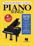 Teach Yourself to Play Piano Songs: Someone like You & 9 More Pop Hits (Softcover Media Online)