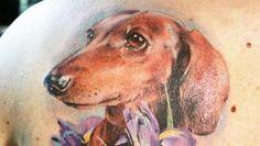 13 fotos de tatuagens de cachorros - Parte 1