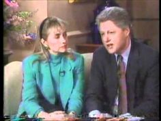 From January 1992: Governor Bill Clinton and his wife Hillary appear on 60 minutes to discuss Gennifer Flowers. In this interview, Clinton denies having had an affair with Flowers. Clinton would later admit he and Flowers did have an affair while he was governor of Arkansas.
