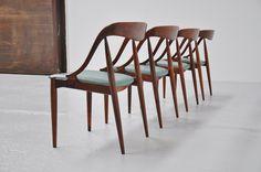 Johannes Andersen Moreddi rosewood chairs 1960 | Mass Modern Design