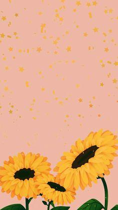 Sunflower Iphone Wallpaper, Iphone Background Wallpaper, Tumblr Wallpaper, Cellphone Wallpaper, Pink Wallpaper, Screen Wallpaper, Aesthetic Iphone Wallpaper, Cool Wallpaper, Aesthetic Wallpapers