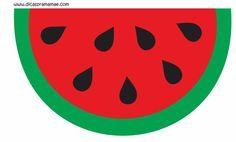 Dicas pra Mamãe: Varalzinho para imprimir - Festa tema melancia