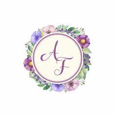 F Alphabet, Alphabet Letters Design, Wedding Logos, Wedding Invitations, Lettering Design, Logo Design, Logo Floral, Stylish Letters, Cute Couple Cartoon