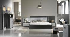 Blanco y negro. Elegancia y confort.