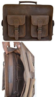 Briefcases and Laptop Bags 169293  Kpl 15 Inch Distressed Leather Laptop  Messenger Bag Leather Briefcase Satchel -  BUY IT NOW ONLY   49.99 on eBay! fa3caf3eda